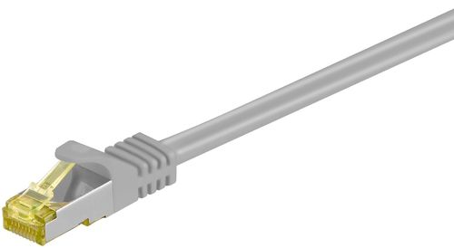 RJ45 Patchkabel CAT 6A 500MHz mit CAT 7 Rohkabel